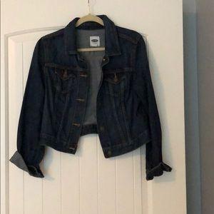 Old Navy Denim cropped jean jacket
